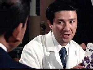 明智小五郎 「白い乳房の美女」(再掲)