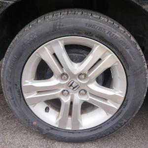 普通タイヤを購入❗