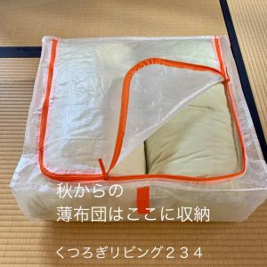 【IKEA】布団が片づく収納ケース