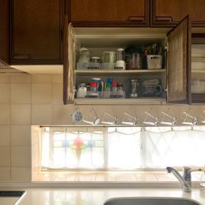 【自宅レッスン】キッチン収納も見ていただいてます
