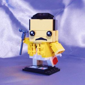 LEGO BrickHeadz でフレディ・マーキュリー