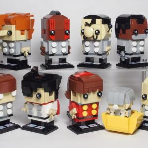 LEGO ブリックヘッズでサイボーグ009 (BrickHeadz MOC)