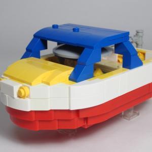 LEGO で「崖の上のポニョ」ポンポン船 ~その2~