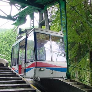 叡山ロープウェイ ロープ比叡⇔比叡山頂