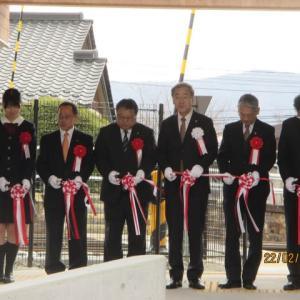 JR飯田線 沢渡駅待合施設施工式