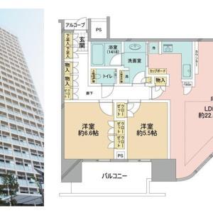 世田谷区玉川の中古マンション、二子玉川ライズタワー&レジデンスを売出情報に公開しました