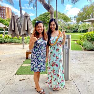 ミセスJAPAN、Hawaii さゆりんとの再会。