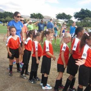 こんな時期からサッカーしてました。