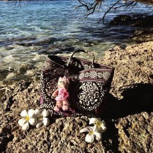 ハワイで使っていた通勤のバッグの思い出。