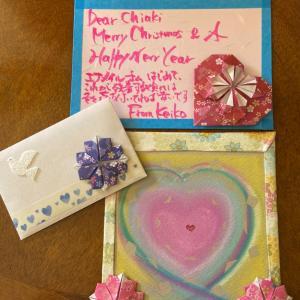 """""""ハワイから再びキャンドルが届きました欲しかったプルメリアのカードに素敵なメッセージおまけの."""""""