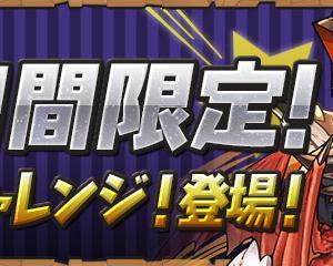 【パズドラ】2日間限定「週末チャレンジ」スタート!