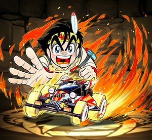 【パズドラ】モンスター購入に新キャラ「日ノ丸四駆郎」登場!進化前・アシスト進化後の能力公開!