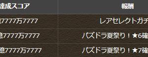 【パズドラ】ガチャドラフィーバー全体スコア77億・第2R達成!星6確定ガチャ配布!