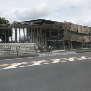 ★あの、東京オリンピック2020新国立競技場にリンクするデザイン【道の駅さかい】