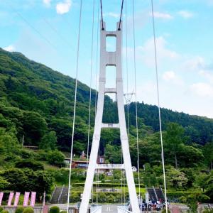 ★シャボン玉が舞う吊り橋の天空回廊 上野スカイブリッジ