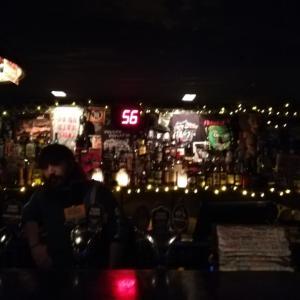 シドニーのお洒落ビジネス街でFriday night dinner