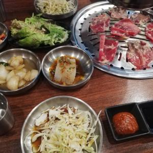 シドニーの韓国人街でKorean BBQ