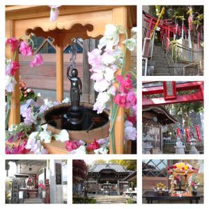 横浜 和田不動尊・真福寺の花まつり