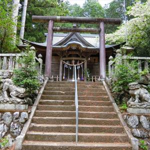 修験の匂いのする神社 琴平神社 琴平ハイキングコース(1)