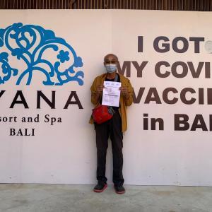 バリ島 ワクチンパスポート義務化へ・・・