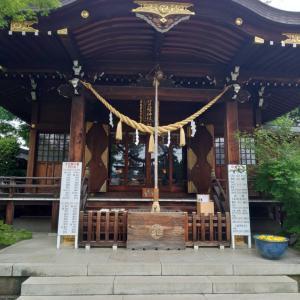 行田八幡神社の花手水~古代蓮の里へ