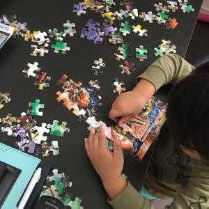 【 4歳6カ月 108ピースパズル20回 集中力 】板パズルの次のレベル