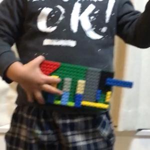 【 4歳 レゴ作品 仮面ライダードライバー 】褒め言葉はエネルギーになる