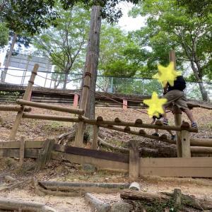 【 5歳 運動神経抜群の次男 大型アスレチックパークへ in 浜松(静岡県)】