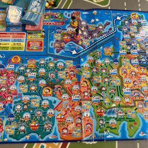 【 遊びながら地理を学べる ドラえもん日本地図すごろく 4歳の気遣い 】