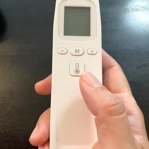 【 楽天セールの 非接触体温計購入 1秒で測れる体温計レビュー 】