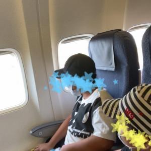 【 沖縄旅行 初めての飛行機で 感動♪ 小4 5歳 】