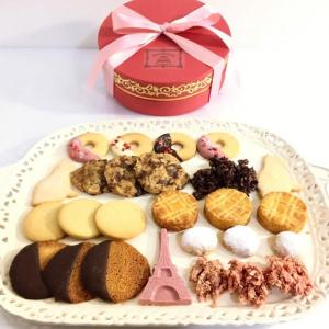 【 美味しいクッキーと高級ショコラサブレ  大切な方への贈り物 】今日のほめ言葉