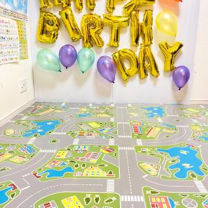【 6歳 100均で誕生日パーティー飾り付けと 誕生日プレゼント 】