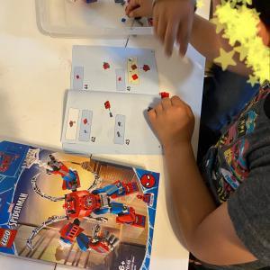【 6歳 レゴのスパイダーマン 】