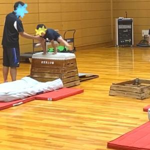 【 6歳 運動神経抜群の次男が凄かった 体操教室 初めての跳び箱と鉄棒 】