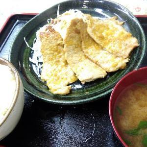 【若林区東七番丁・定食・千屋】昔の給食orおうちみたいな、懐かしい感じの生姜焼き定食発見!お肉も厚め!