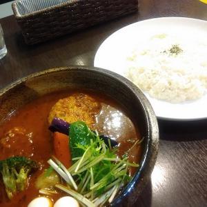 【青葉区支倉町・スープカレー・杜(mori)】カフェっぽい雰囲気のスープカレー店がオープン!豆腐ハンバーグカレーなど軽めのものも♪