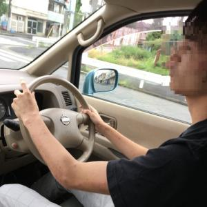 長男の初ドライブ