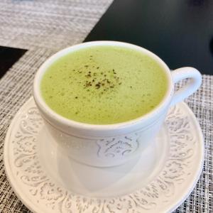 抹茶 高脂質ホットドリンク