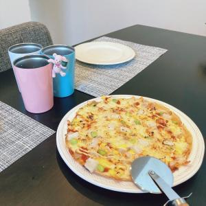 卵ピザのバリエーション