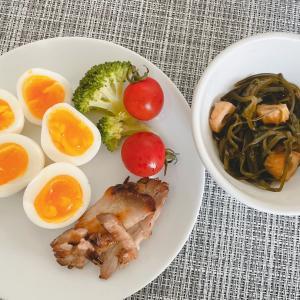 ゆで卵が主食?!
