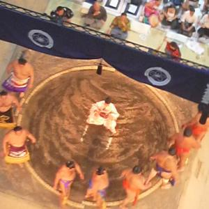 無料で相撲観戦・はっきよいKITTE特別巡業(2019/08/25)を前に昨年の様子を思い出す