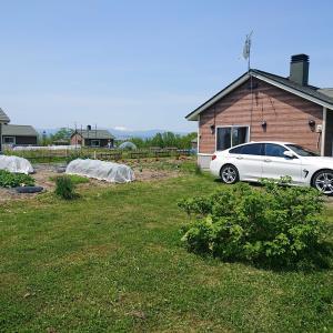 今年2回目の北海道クラインガルテン滞在