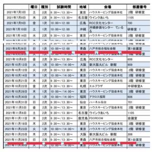 整理収納アドバイザー1級(1次&2次)試験が青森県で開催できます!