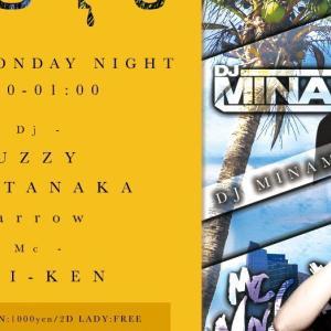毎週月曜日『melt at GIRAFFE & ADAM Lounge』7/3, 10, 17, 24, 31
