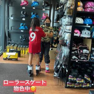 子供達のいったところ@バンコク(Part4) ローラースケートを購入