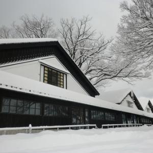 #雪景色 山居倉庫