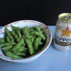 #ビールと枝豆