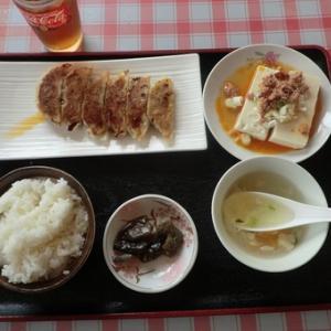 #餃子定食 #ワンコイン