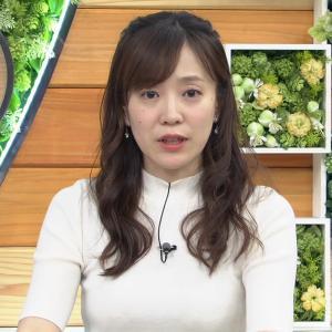 【画像】ひるおび!の江藤愛アナ、おっぱいがデカすぎると話題にwwww